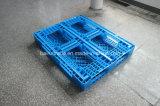 1100 * 1100 * 125 Placa de plástico empilhadeira de plástico palete para a China