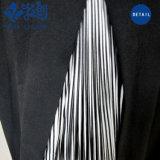 Rund-Stutzen Sleeveless dunkelblauer Freizeit-Form-Overall mit Troddeln