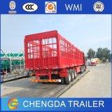 Alto della Bed Cage Van Enclosed Cargo del cavallo della rete fissa rimorchio semi