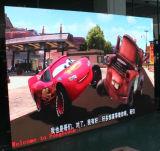 Écran de publicité d'intérieur polychrome de HD P3 DEL