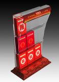 Contre- fabrication acrylique claire faite sur commande de présentoir de cigarette
