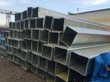 Tubi/tubi d'acciaio galvanizzati Caldo-Tuffati di rettangolo dai fornitori della Cina