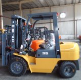 Chariot élévateur diesel 3.5 tonnes avec la hauteur de levage de 3-6m