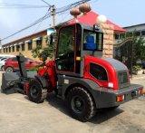 1 tonelada que carrega o mini trator de exploração agrícola pequeno agricultural com o Ce