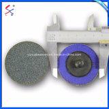 Высокая плотность обедненной смеси оксида алюминия плоский диск заслонки шлифовки шлифовка колес