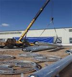 2018 inmersión en caliente de la galvanización de la fábrica de acero de Telecomunicaciones de la torre monopolo