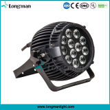 IP65 haute puissance 12 * 14W Rgbawuv LED Outdoor Spot Light for Architecture