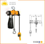 3 Your Double Chain Air Hoist for Coal Undermines and Oil Drilling.