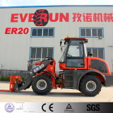 Everun 상표 눈 잎 E4 가벼운 작은 바퀴 로더를 가진 2.0 톤