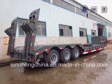 半工場価格40-60のトンの重いローディングの低いベッドのトレーラー