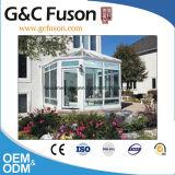 Het modieuze Aangemaakte Glas Sunroom van het Aluminium van het Ontwerp Sterke Frame