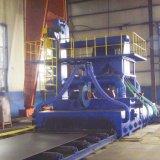 Banc à rouleaux Type de tunnel grenaillage Machine