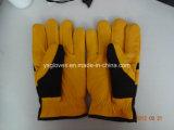 Перчатк-Безопасность зимы Перчатк-Работает перчатка кожаный Перчатк-Кожи Перчатк-Коровы работая