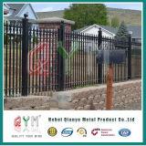 Painéis decorativos da cerca do ferro feito da cerca do piquete de alumínio do metal