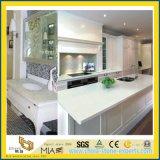 Ослепительно белый/черный/желтый/серый/зеленый полированный искусственного кварца/гранита и мрамора камня мойки для кухни и ванной комнатой/гостиницы
