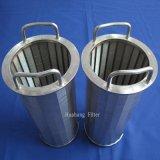 De Manden van de Cilinder van het Scherm van de Draad van de Wig van het Type van Johnson voor de Behandeling van het Afvalwater