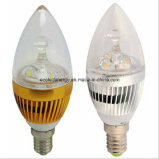 La CE y Rhos E27 Glod Velas LED 3W