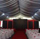 De dubbele pvc Met een laag bedekte Tent van de Tentoonstelling van de Gebeurtenis van het Aluminium