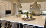 台所上のための人工的な白い水晶石