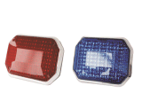 Senken Leistungs-Oberflächen-Montierung grosse LED rote und blau oder bernsteinfarbige Warnleuchte