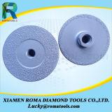 갈기를 위한 진공에 의하여 놋쇠로 만들어지는 다이아몬드 컵 바퀴