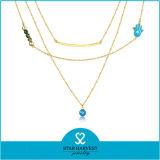 De hete Verkopende Europese Ketens van de Juwelen van de Parel van het Metaal (n-0295)