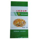 sacs de millet de riz d'alimentation de graine de maïs tissés par pp de matériau de la Vierge 50lb