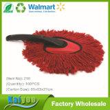 Balai de nettoyage de guichet de véhicule de fils de coton avec le traitement noir