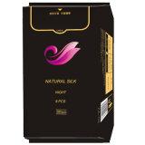 380mm Silk gesundheitliche Serviette-gesundheitliche Auflagen für Nacht