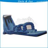水公園のゲームのための膨脹可能な水スライダ