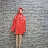 주문 성숙한 방수 경량 폴리에스테 나일론 PVC/EVA 비옷