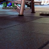 Crossfit Gimnasio de caucho de alta calidad azulejos pavimentos