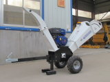 Professionnels de la brosse de Shredder Wood Chipper Machine avec moteur 15hp