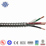 UL certificaat 1/0 Mc van het Metaal van de Legering van 2/0 4/0 Mc van 500mcm Aluminium van de Kabel Beklede of van het Jasje van pvc van de Kraan van het Staal Gepantserde Kabel