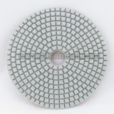 엔지니어 돌을%s 100mm 백색 닦는 패드