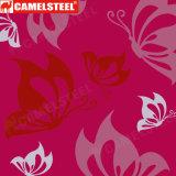 Bobines d'acier enduites par couleur de la configuration de fleur PPGI/PPGL de Shandong