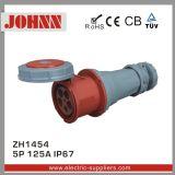 Conetor de IP67 5p 125A para industrial com certificação do Ce