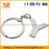 2016promotional Items Custom Shape Logo Metal Chaveiro com anel
