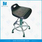 PU moderno taller Laboratorio taburete silla ESD con Footring