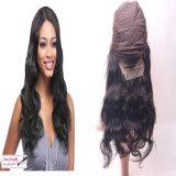 Parrucca poco costosa unica di vendita calda della parte anteriore del merletto dei capelli umani di stile di arrivo nuovo con i capelli del bambino