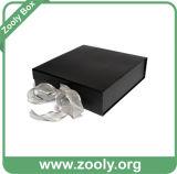Rectángulo de regalo plegable de la cartulina rígida/rectángulo plegable cosmético de papel impreso