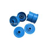 Nylonplastikfußrollen-Riemenscheiben-Rad für Möbel-/Schiebetür-Fußrollen-Laufkatze-Rad-Installationssatz