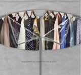 De Moderne Eenvoudige Stof die van het Huishouden van de Garderobe DIY de Eenvoudige Garderobe van de Combinatie van de Versterking van de Grootte van de Koning van de Assemblage van de Opslag van de Afdeling van de Doek (fw-39A) vouwt