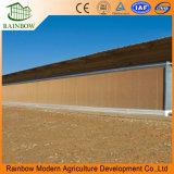 Automatische Kühlsystem-nasse Vorhang-Auflage für Gewächshaus