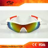 2018 против УФ400 поляризованной вилкой для взрослых велосипед бейсбола работает солнечные очки