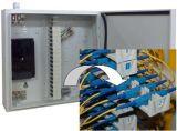 Sistemas coloreados telecomunicación del divisor del PLC de la fibra 1X8 de Gpon
