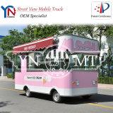 Caminhões móveis elétricos do alimento de China para o gelo Cream/BBQ/Snack
