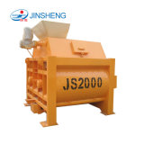 Betonmischer-Maschinen-Preis der China-Fabrik-Zubehör-Zwilling-Welle-Js2000