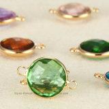 2018 naaien de Buitensporige 14mm Ronde Losse Parels van de Halsband van de Juwelen van het Kristal op Bergkristal voor de Toebehoren van de Kleding