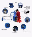 400W máquina láser de alta frecuencia para soldar el molde con la FDA aprobó